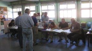 La gente votó ilusionada en Torrelodones