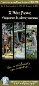 X Aniversario  Belén Popular de Hoyo de Manzanares