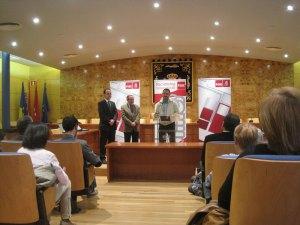 Carlos Pérez Paredes, Director de la Mancomunidad, agradece el galardón