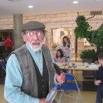 El maestro Pedro Extremera en el Mercado de Arte de Torrelodones