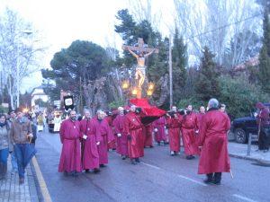 Procesión del Viernes Santo en Torrelodones 2012