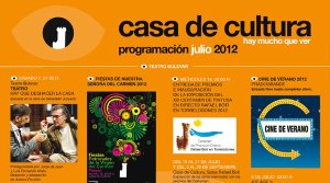 Programación Cultural Julio 2012 Torrelodones