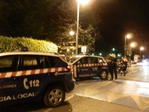 Policía Municipal de Torrelodones en las Fiestas de la Colonia