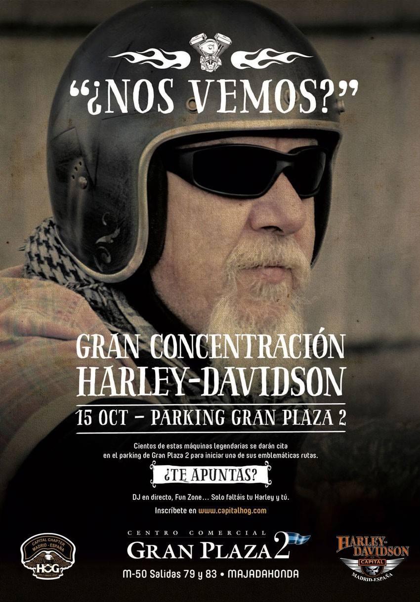 Los amantes de las motos se dan cita en el centro - Cc gran plaza 2 majadahonda ...