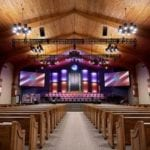 Theatrical Lighting in a church sanctuary