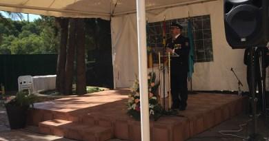 La Policía Nacional celebra la fiesta de los Ángeles Custodios