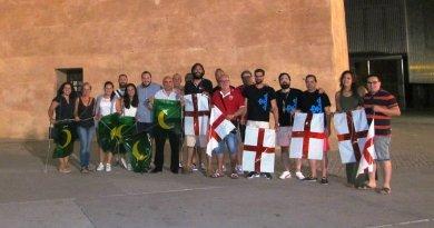 Almogàvers y Montesa engalanan las calles de Torrent para las fiestas de Moros y Cristianos 2016