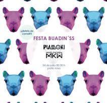 Buadin'ss celebra su II Fiesta Joven este domingo en el patio rosa