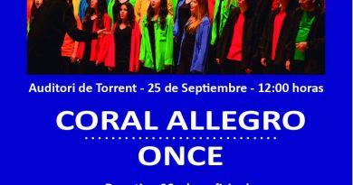 Concierto a beneficio de Casa Caridad con la Coral Allegro de la ONCE