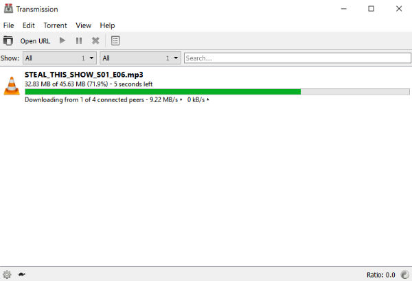 Transmission Releases Long-Awaited BitTorrent Client For Windows