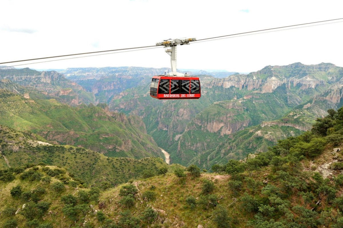 NEW Cable Way rides!