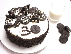 Tortas decoradas con galletas oreo (15)