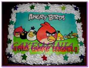Tortas decoradas de Angry Birds (6)