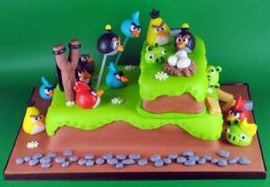 Tortas decoradas de Angry Birds (7)