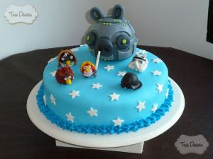 Tortas decoradas de Angry Birds (8)