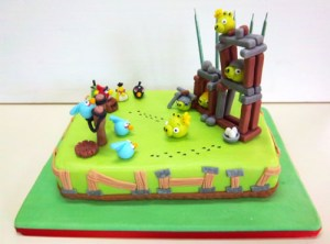 Tortas decoradas de Angry Birds (9)