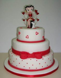 10 Hermosas tortas decoradas de Betty Boop (9)