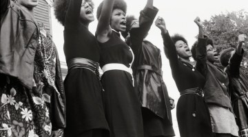 Women held positions of power within the Black Panther Party (Dogwoof)