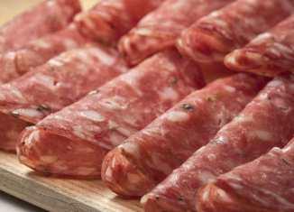 Venkelsalami Carpaccio - Carpaccio di finocchi con finocchiona