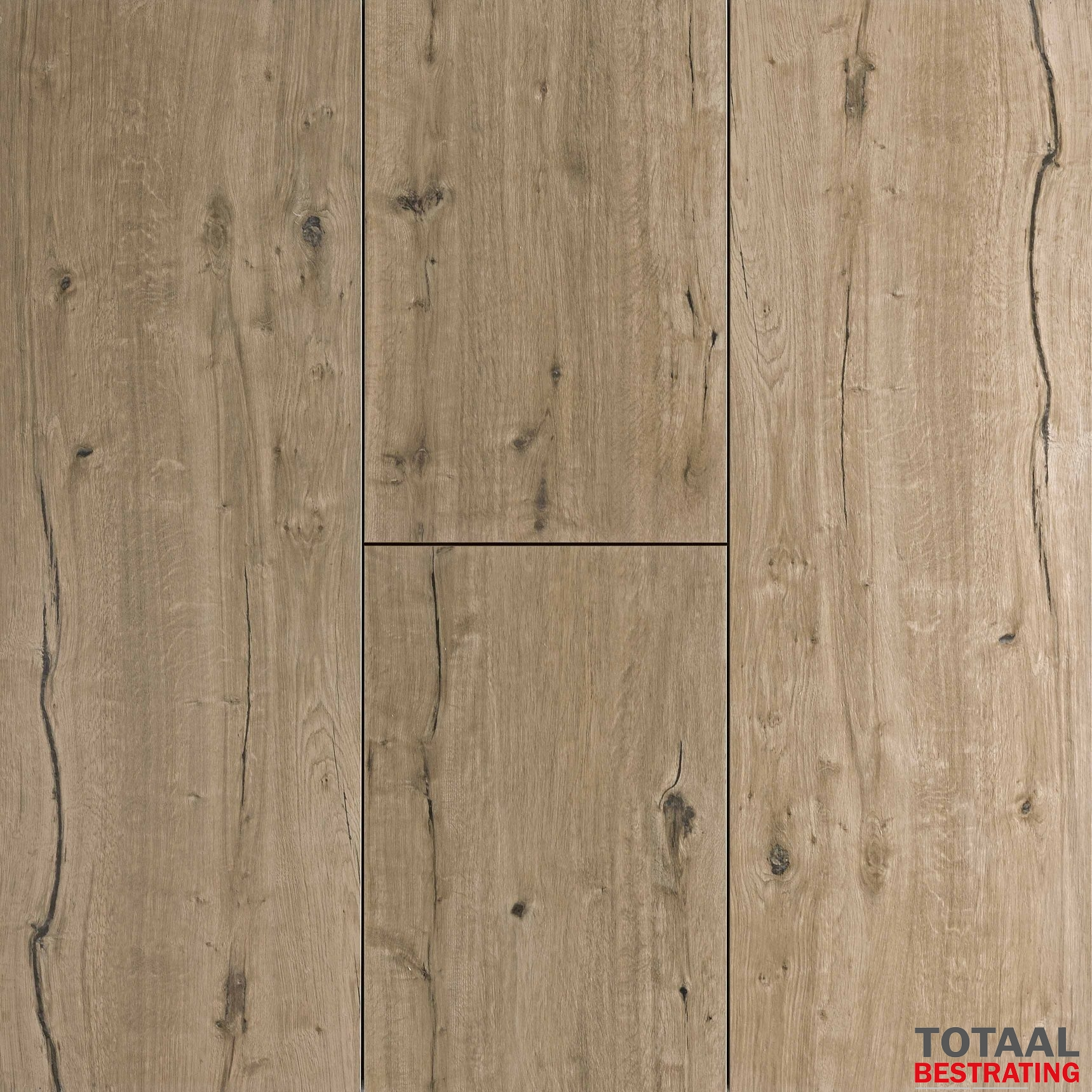 Grindmatten Leggen Keramisch Woodlook Light Oak 40x120x2cm Totaalbestrating