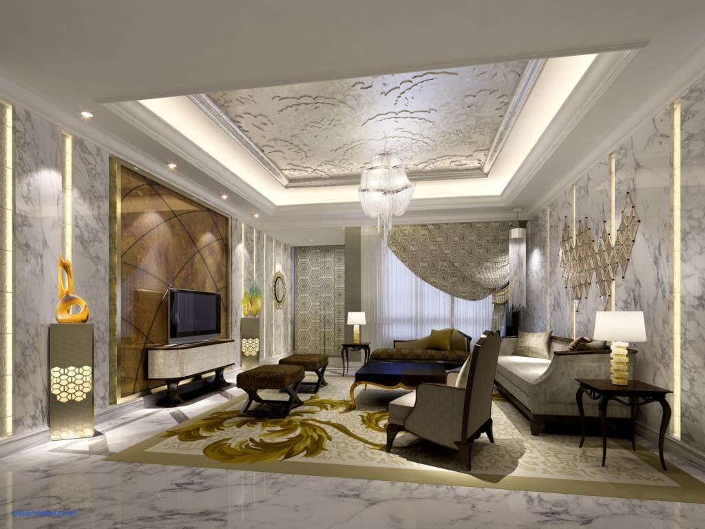 Luxurious Living Room Design Sala De Estar De Luxo Chiques E Modernas Mais De 89