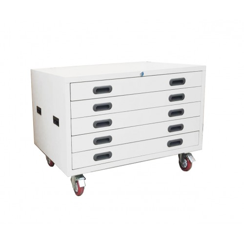 A1 PLAN DRAWER ARCHITECT CABINET 5 DRAWERS WITH WHEELS
