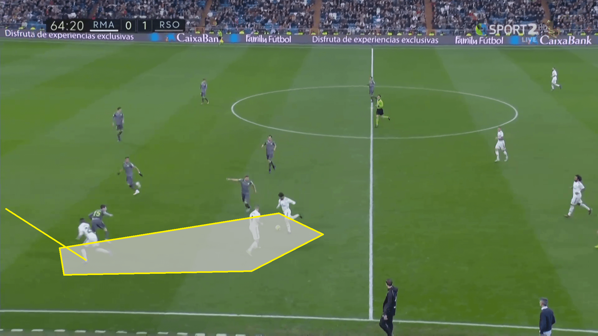 Futbol Live La Liga 2018 19 Tactical Analysis Real Madrid Vs Real Sociedad