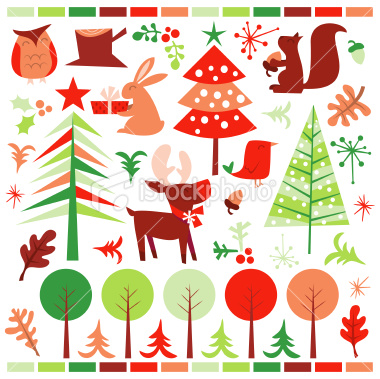 stock-illustration-18269244-retro-festive-forest-holiday-design