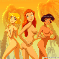 Our dearest spygirls are completely naked this time!