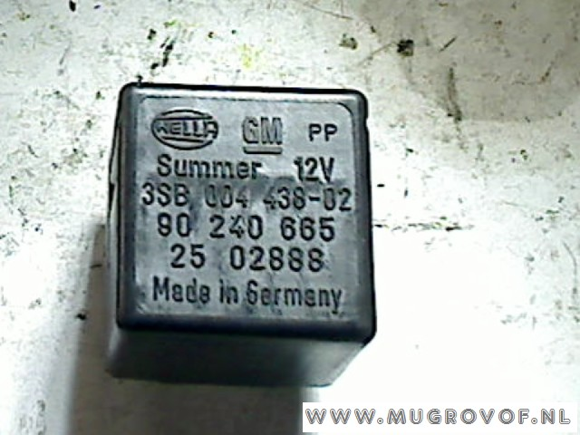 Relay Miscellaneous Opel Corsa B (73/78/79) Hatchback 14Si Joy