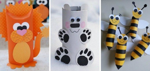 Diy Animal Craft Ideas With Toilet Paper Rolls Total