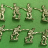 MEX10a US Regular Infantry Light Order, Charging