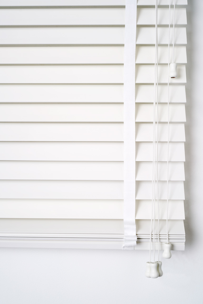 White Timber Blinds Pure Wood Total Window Concepts