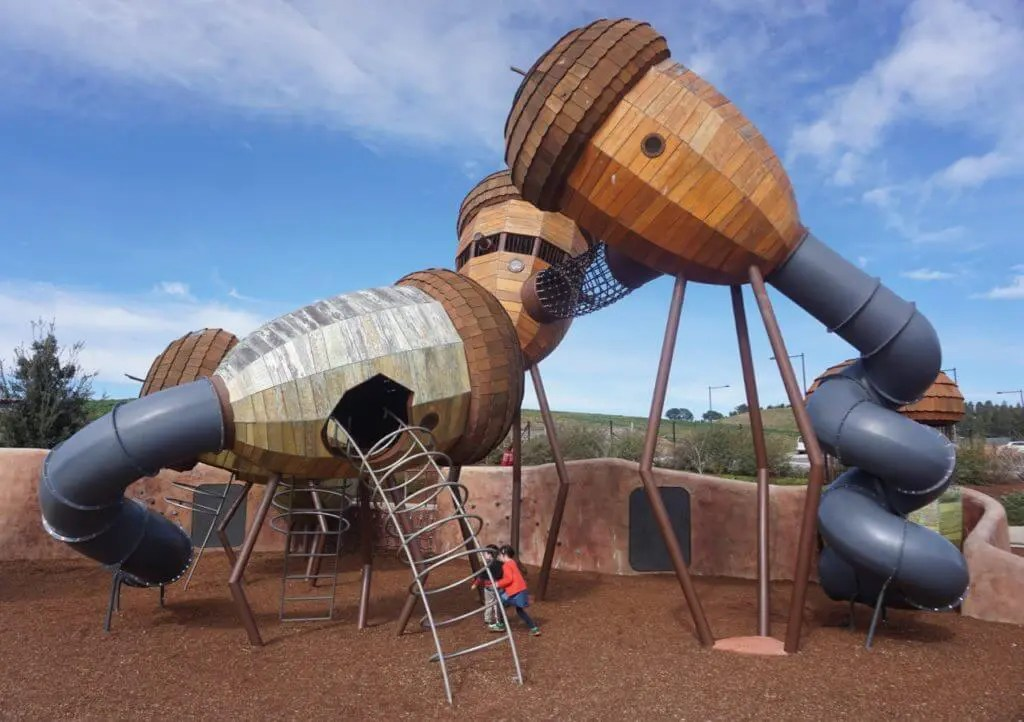 Pod Playground National Arboretum Canberra Review Tot