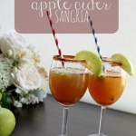 The Best (& Easiest) Spiced Apple Cider Sangria