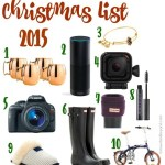 Christmas List & Link-Up!