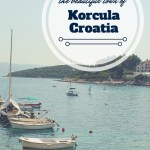 Swimming And Biking in Korcula, Croatia