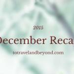 December Recap