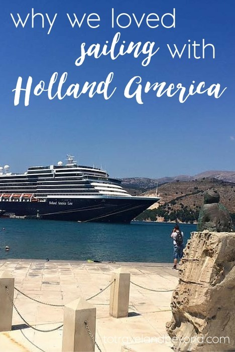 sailing with Holland America