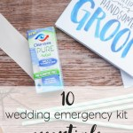 10 Things For Your Wedding Day Emergency Kit