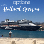 Holland America Cruise Experience: The Food