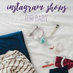 My Favorite Instagram Shops For Baby
