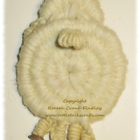 Whimsical Woven Folkloric Sheep