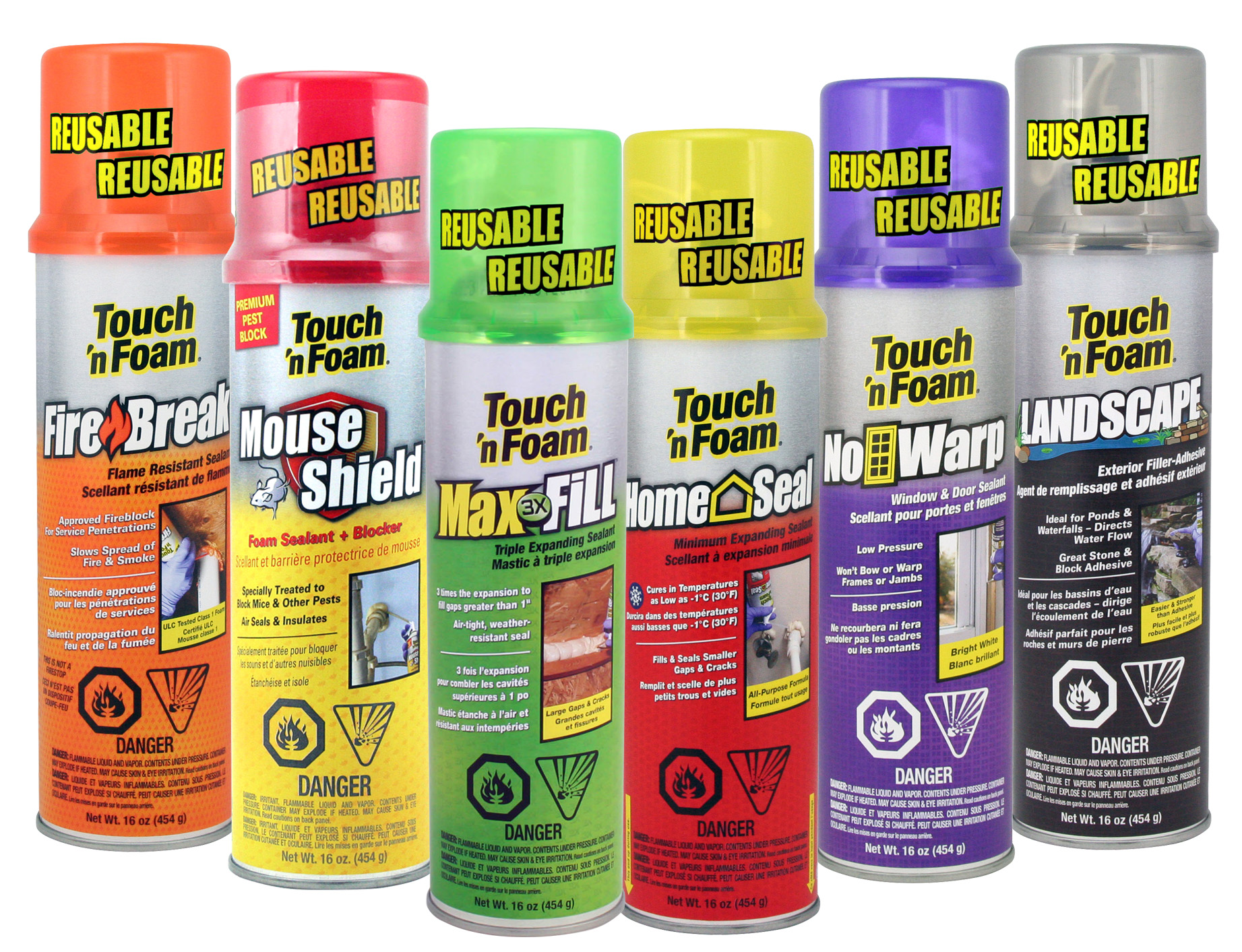 Touch N Foam Professional Touch 39n Foam Professional And Diy Spray Foam Insulation