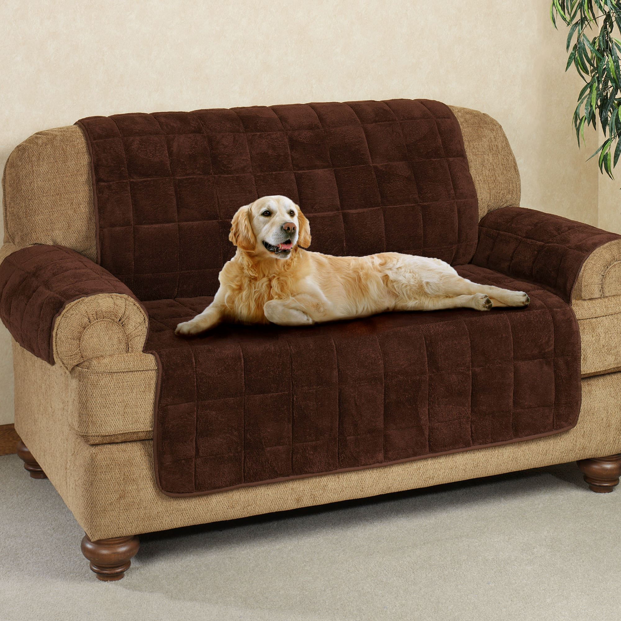 Couch Covers Microplush Pet Furniture Covers With Longer Back Flap
