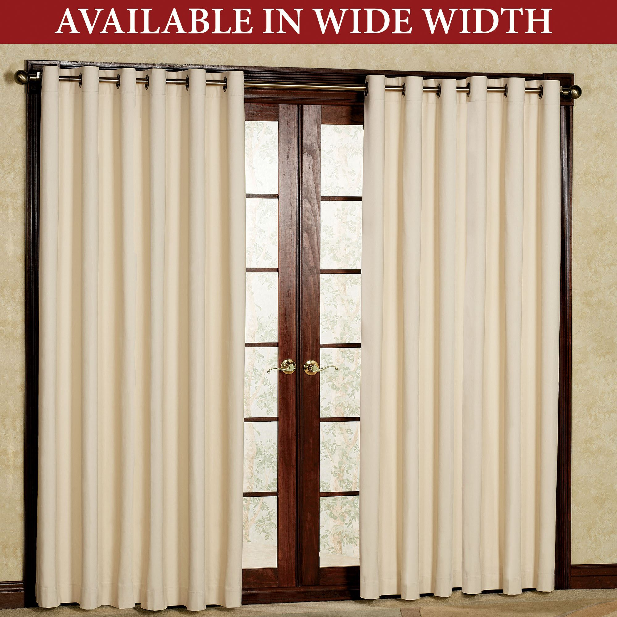 36 Inch Room Darkening Curtains Weathermate Solid Thermalogic Tm Room Darkening Grommet Curtains