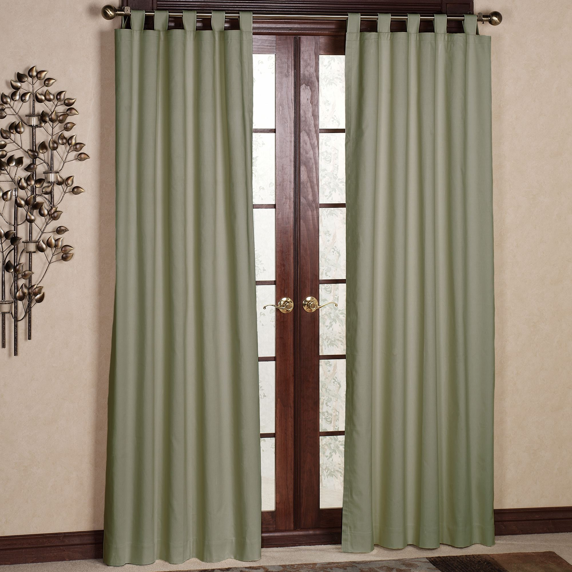 Tab Top Curtain Weathermate Solid Thermalogic Tm Tab Top Curtains
