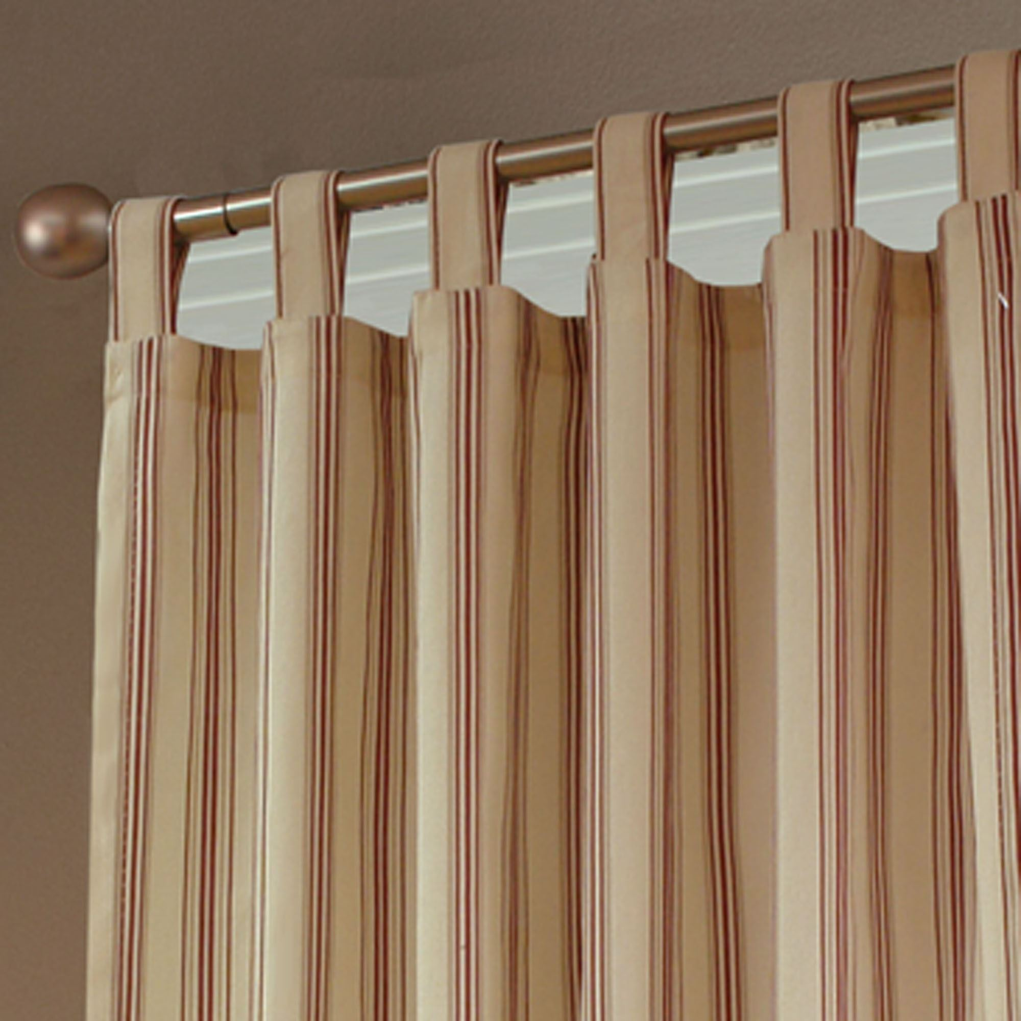 Tab Top Curtain Weathermate Stripe Thermalogic Tm Tab Top Curtains
