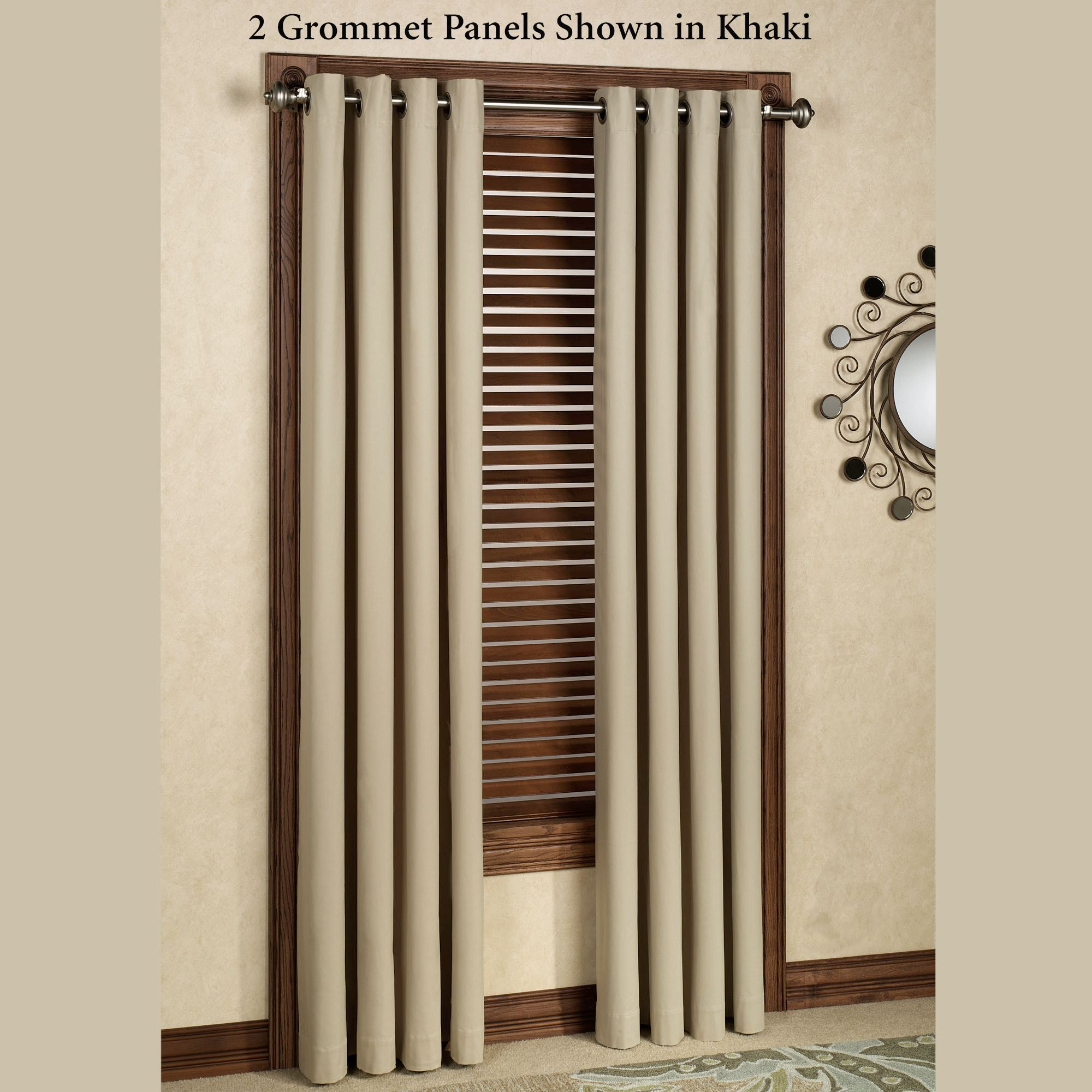 Heavy Thermal Curtains Nantucket Thermalogic Tm Grommet Curtain Panels