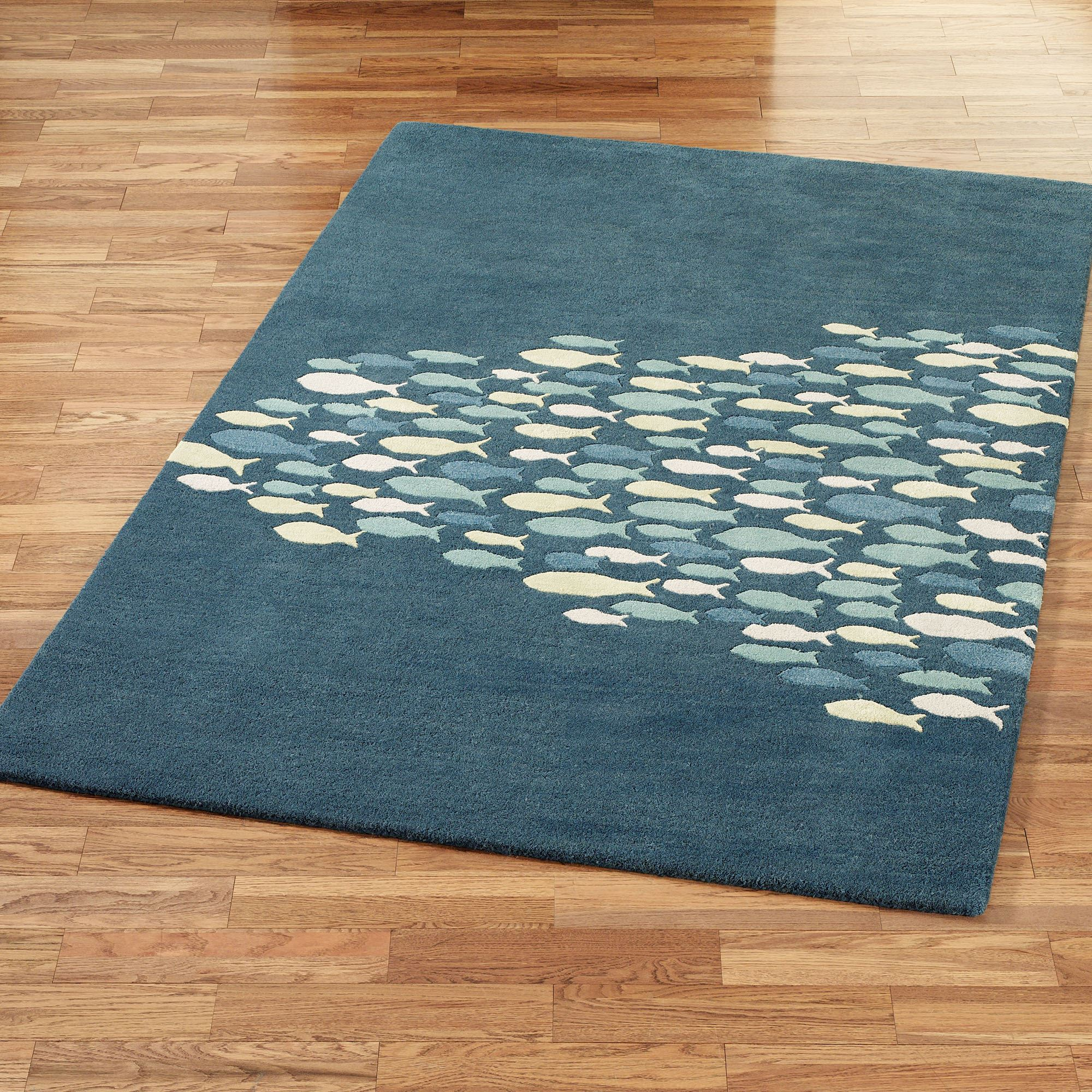 Freedom Furniture Rugs Schooled Fish Wool Area Rugs